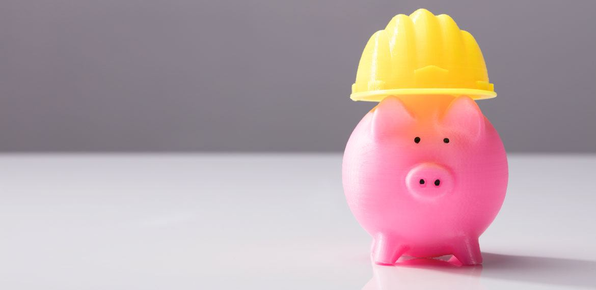 Piggy Bank in Hardhat