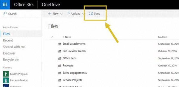 sharepoint sync client sync window
