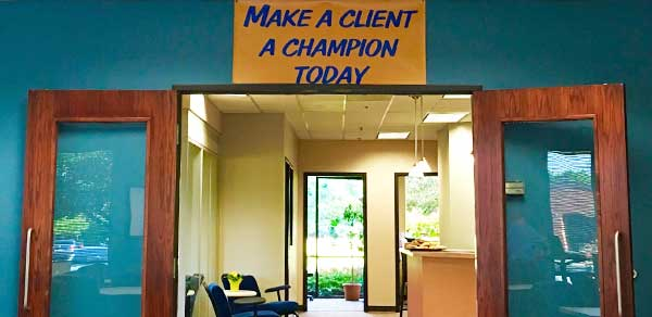 make a client a champion today