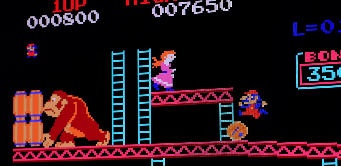 Image of Donkey Kong Arcade Game
