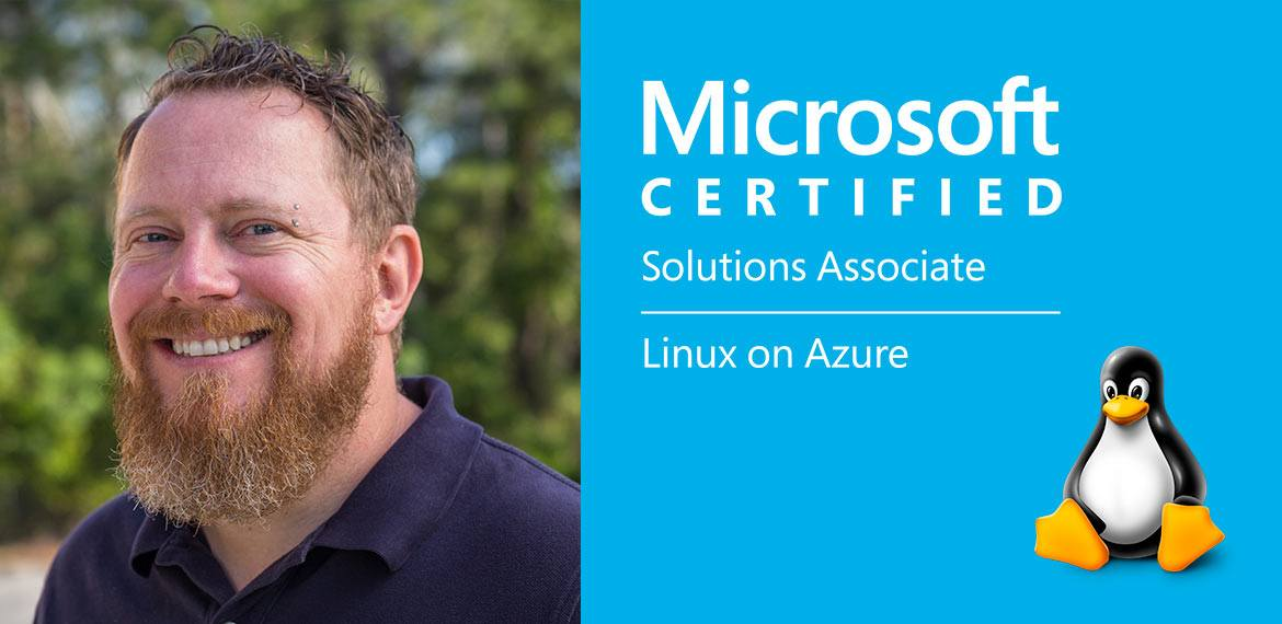 sam blowes linux on azure certified