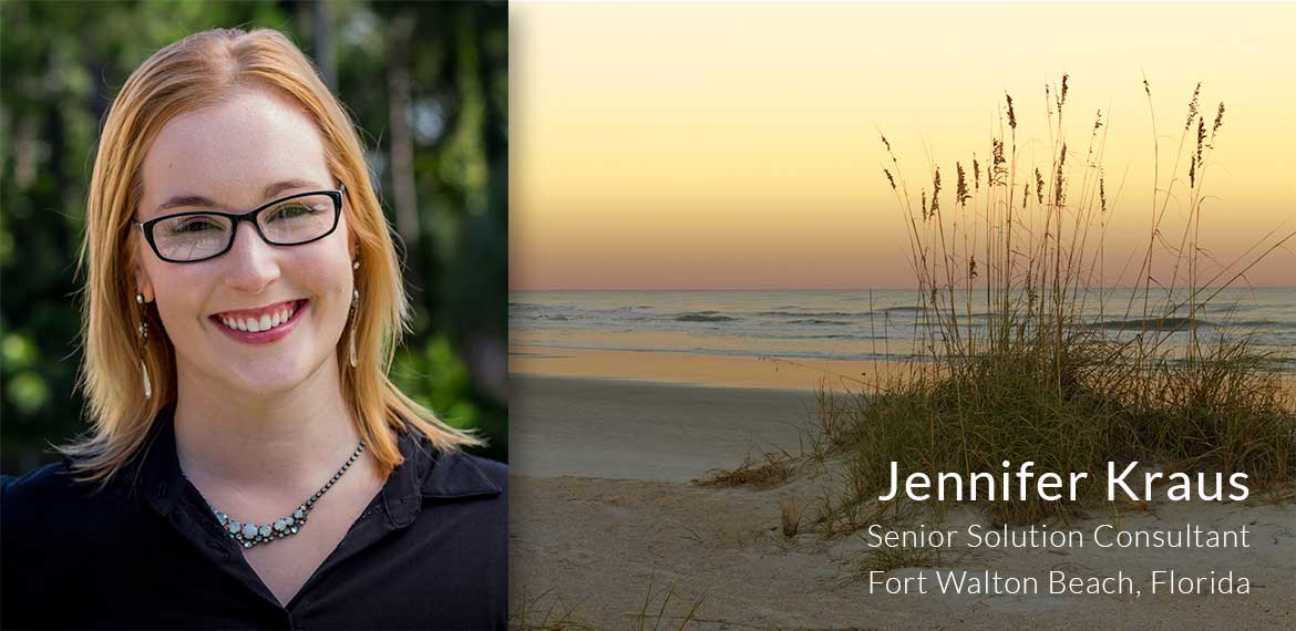 Jennifer L. Kraus, Senior Solution Consultant