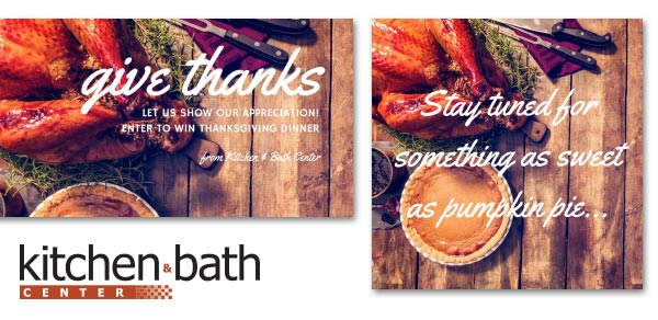 kitchen & bath giveaway campaign