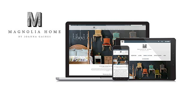 Magnolia Home Brand Website