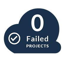 zero failed projects