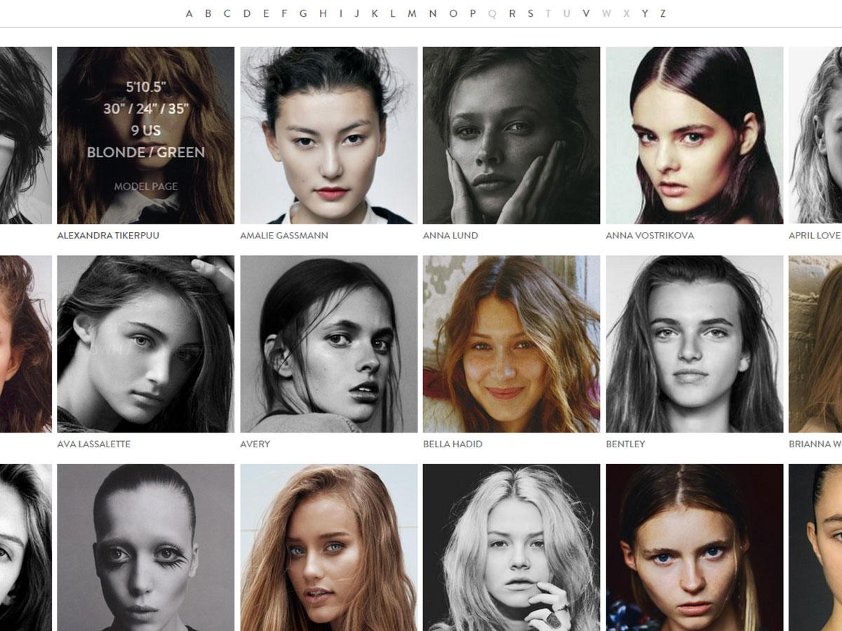 IMG models library view