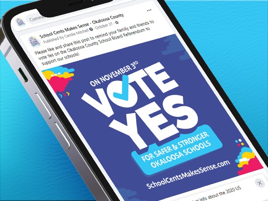 Digital Marketing Drives Success for Half-Cent Vote