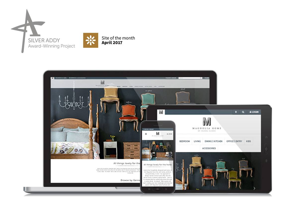 Magnolia Home E-commerce Website and Integration