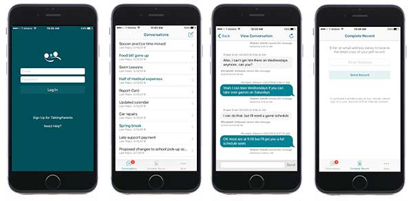 talkingparents.com ios app view