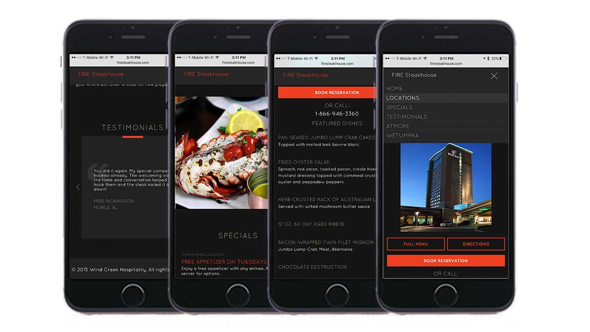 responsive mobile ios view