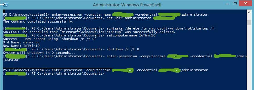 Windows Powershell Terminal