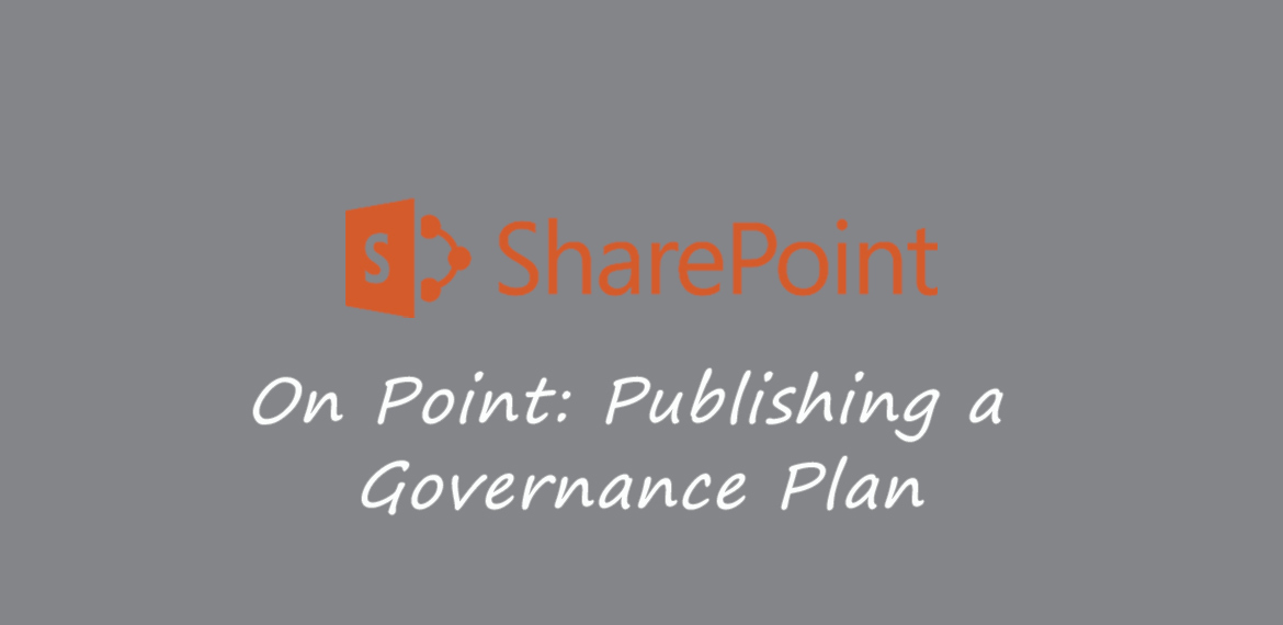 sharepoint governance plan