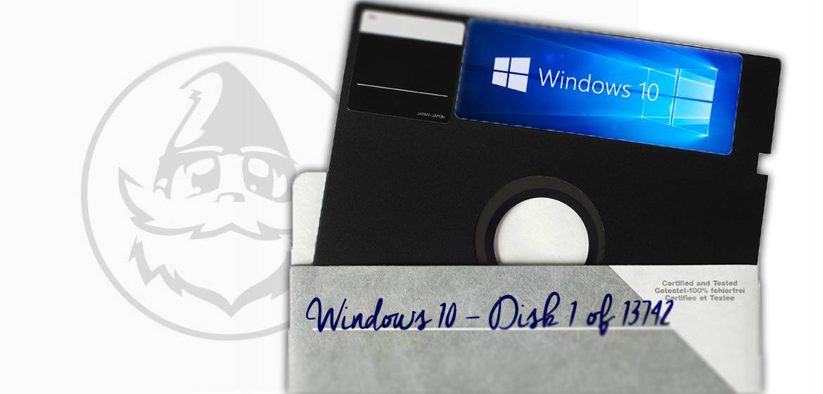 floppy windows 10 disk