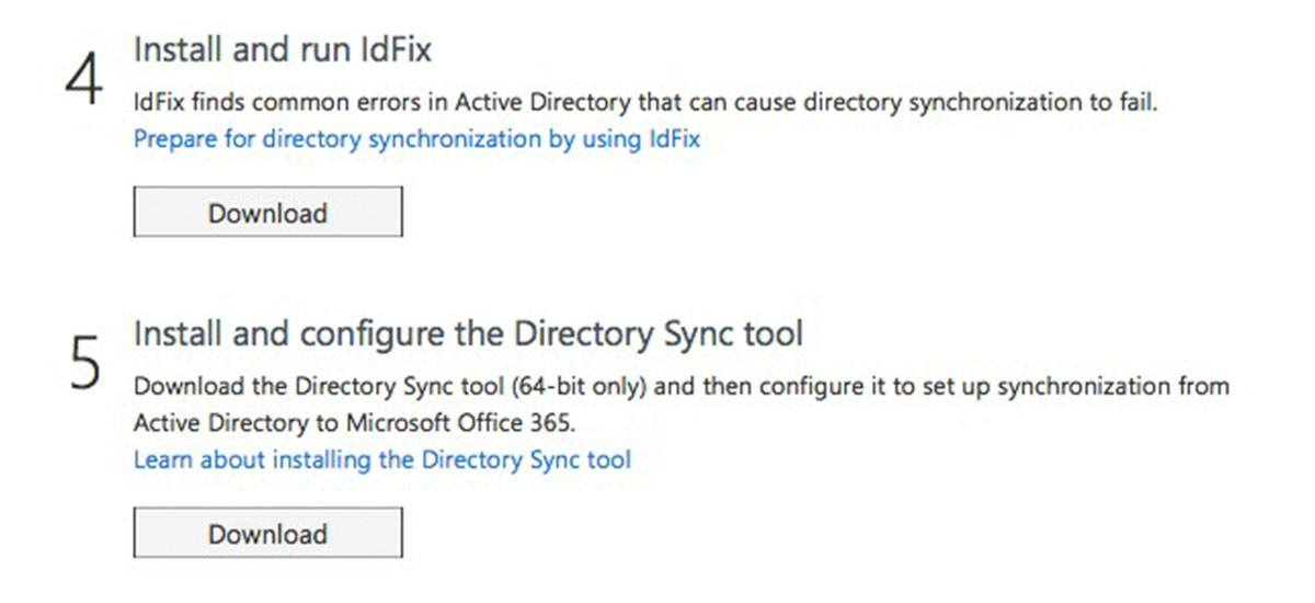 Active directory IdFix window