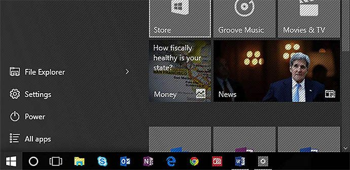 Windows 10 – The Start Menu | Bit-Wizards