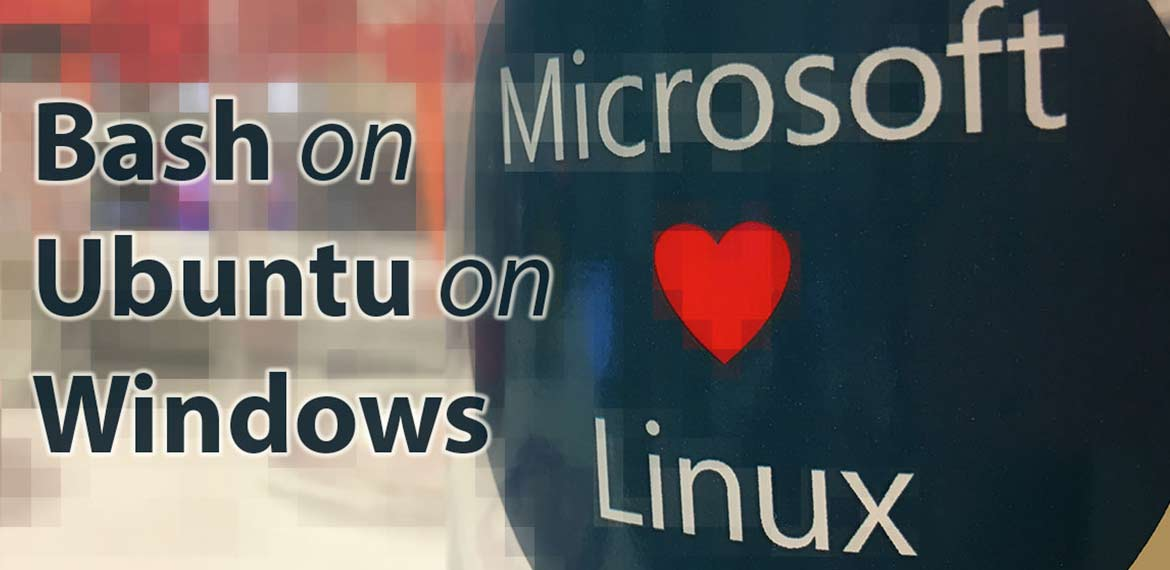 microsoft loves linux bash