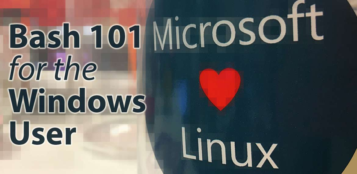 microsoft loves linux bash 101