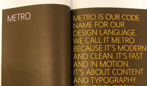 metro style defined