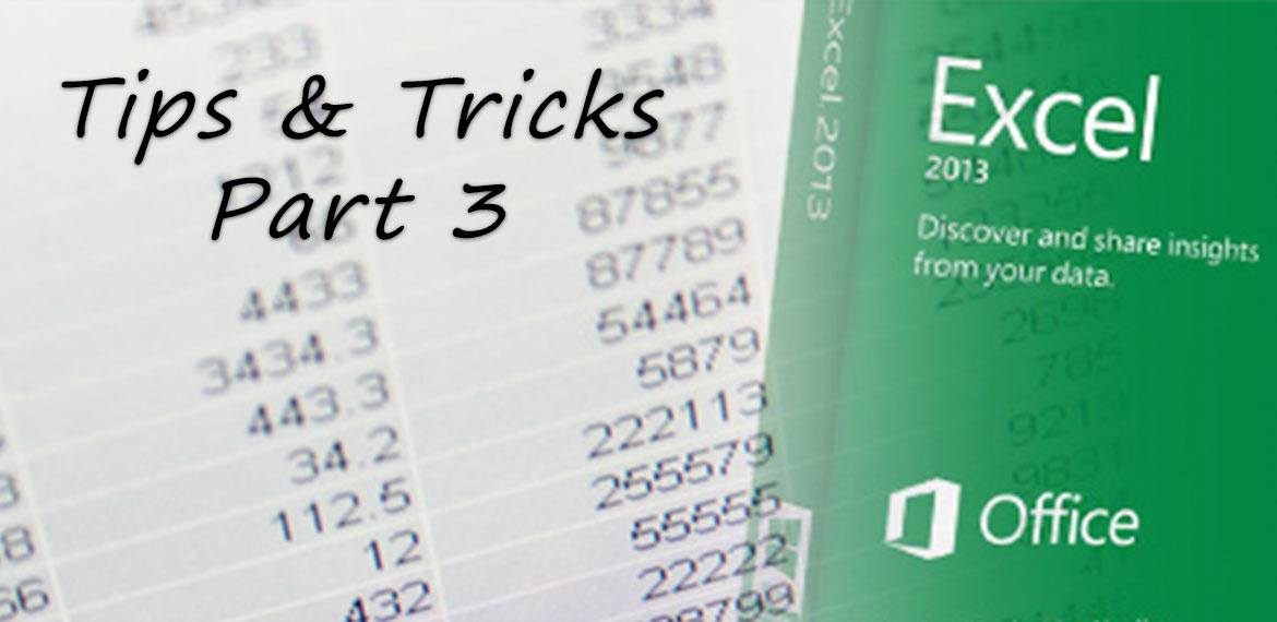 Excel Tips and Tricks - Part 3: Now it's Time to have FUN | Bit-Wizards