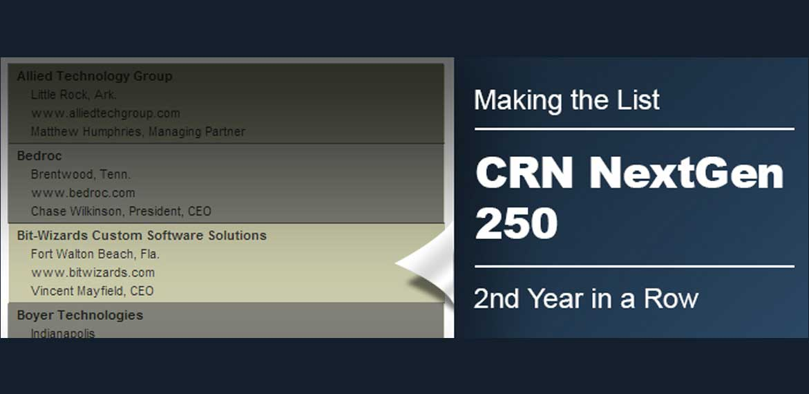 2013 CRN next-gen 250 list