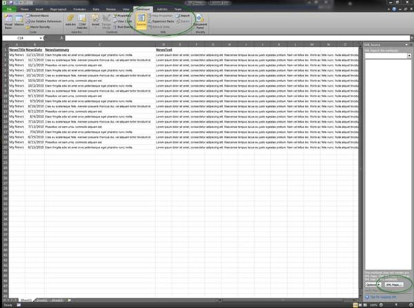how to export an excel 2010 worksheet to xml bit wizards