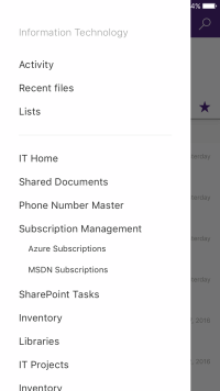 microsoft sharepoint app for iphone