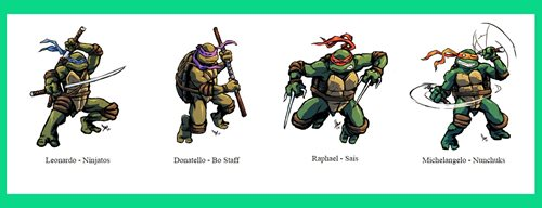 ninja turtles result image
