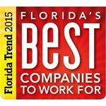 2015 Florida Trend's Best Companies to Work For