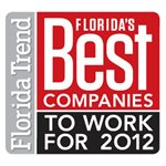 2012 Florida Trend's Best Companies to Work For