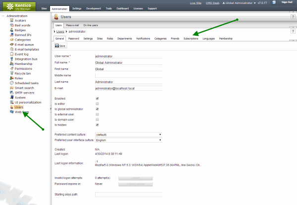 Adding Custom Functionality To A Kentico Cms Module In Version 8