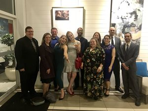 Bit-Wizards Team at the 2018 ADDY Gala
