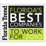 2010 Florida Trend's Best Companies to Work For
