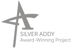 silver addy award-winning video project