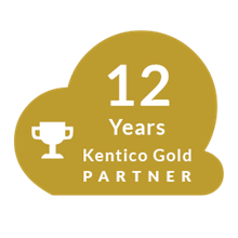 12-Year Kentico Gold Partner