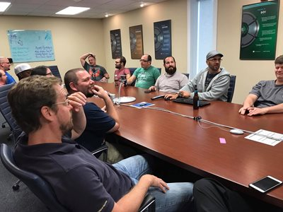 team tech 30 collaboration meeting