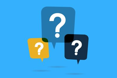 Choosing Managed IT Services | Image of Question Marks