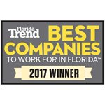 Florida Trend 2017 Best Company to Work For