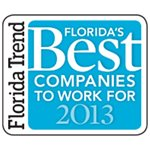 2013 Florida Trend's Best Companies to Work For